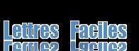 Logo Lettres-Faciles